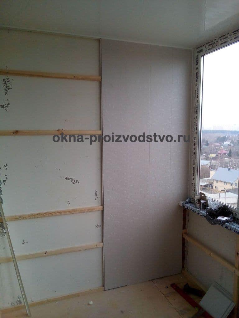 Выравнивание стен, парапета и потолка обрешеткой